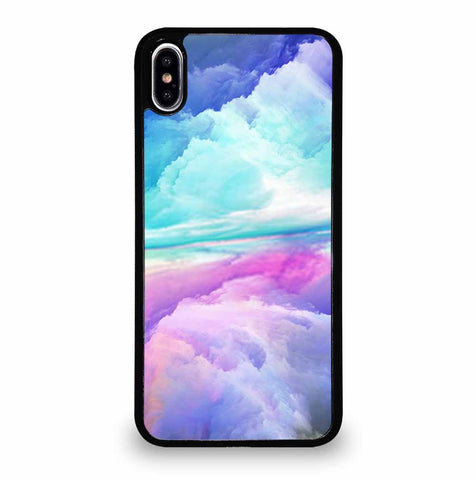 VIRTUAL ABSTRACT LANDSCAPE iPhone XS Max Case Cover