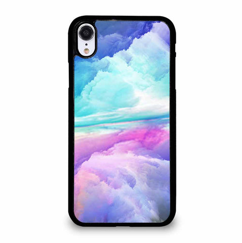 VIRTUAL ABSTRACT LANDSCAPE iPhone XR Case