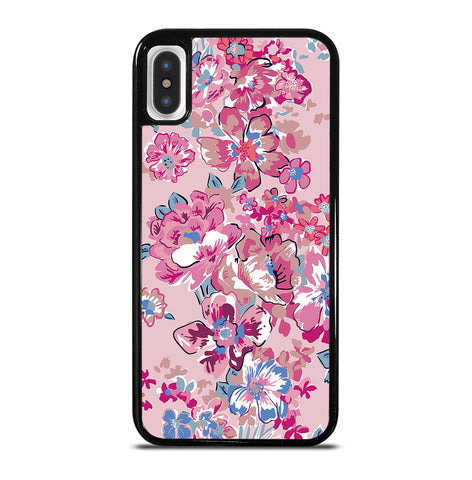 Vera Bradley Patternanchor Pretty Posies Pink for iPhone X and XS Case Cover