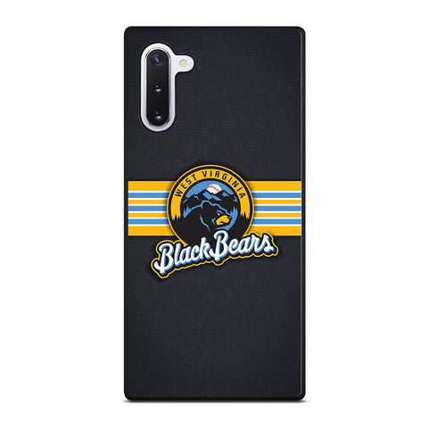 West Virginia Black Bears for Samsung Galaxy Note 10 Case Cover