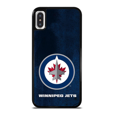Winnipeg Jets Logo for iPhone X and XS Case