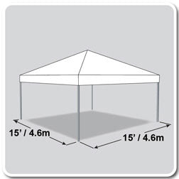 15x15 Frame Tent
