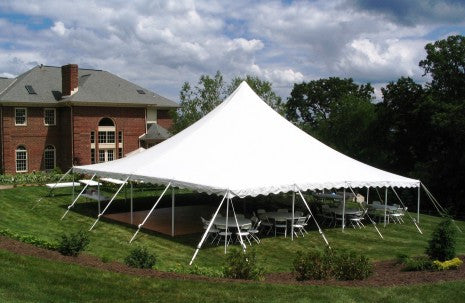 40x40 Pole Tent By Flower City Party Rentals Flower City