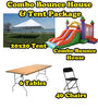 Party Package #5 (40 Person Tent & Bounce)