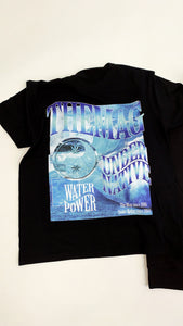 "Under Native x The Mag ""Wavy"" T-shirt Black"