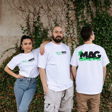 "The Mag x The Streets ""Green Magic"" Tee - White"