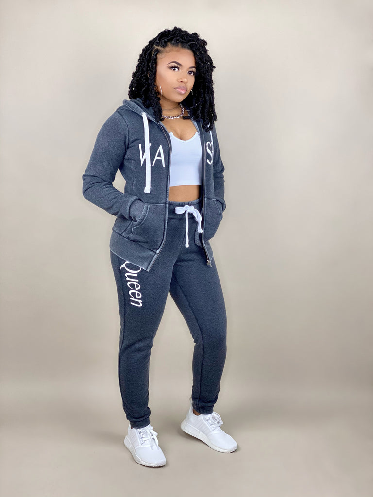 KQ Zip Jacket Jogger Set