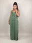 Staycation Maxi Dress (Striped)