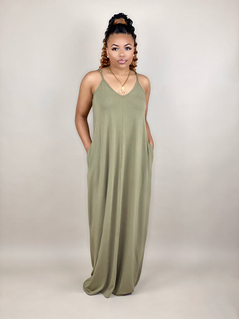Staycation Vibes Maxi Dress