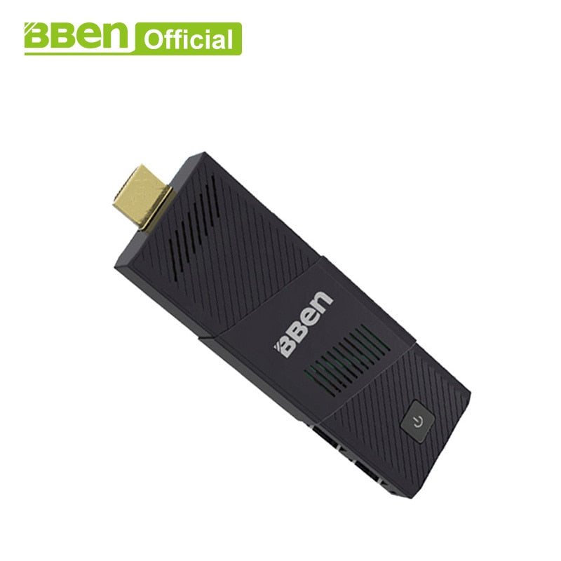 Bben MN9 fan intel mini pc windows10 ,4GB RAM+64GB emmc mini Computer pc stick media player USB3.0