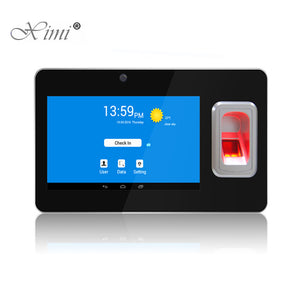 UT268 Android Fingerprint And 125KHZ RFID Card Time Attendance With GPS And SMS Biometric