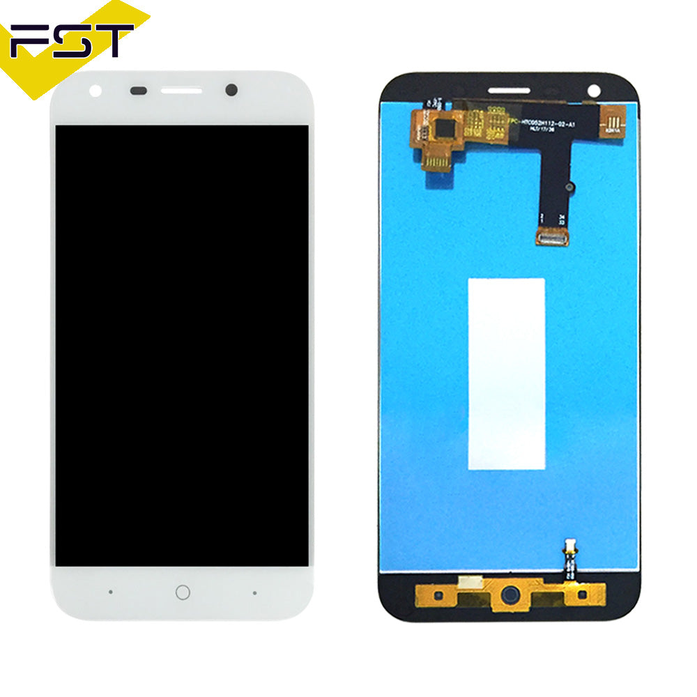 Black/White For ZTE Blade A6/A6 Lite LCD Display and Touch Screen Assembly Repair Parts With