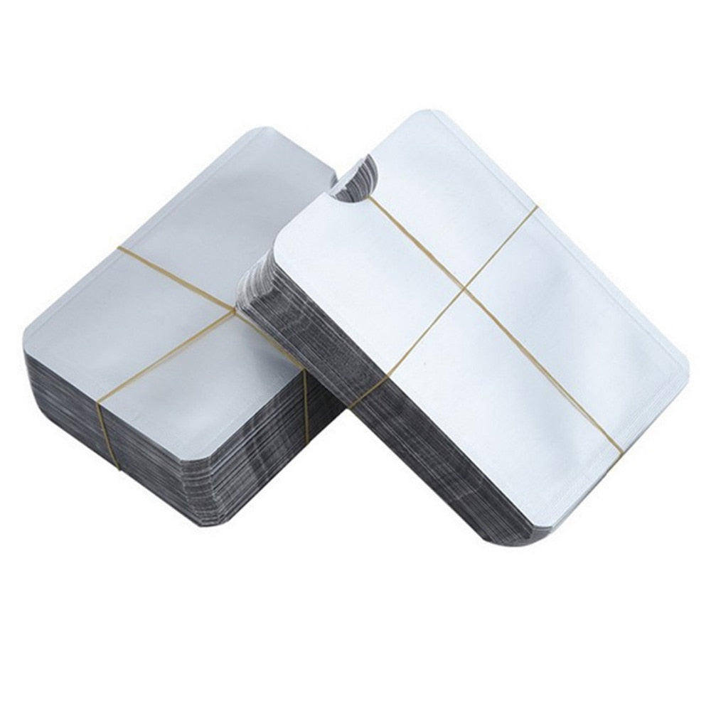 20 pcs/set 13.56mhz IC Card Protection NFC Shielded Card Sleeve RFID Shielded Sleeve Card Blocking