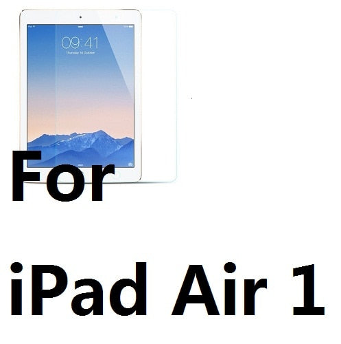 2.5D Anti Scratch Tempered Glass Screen Protector For iPad Air Air 2 iPad 2 3 4 Mini 1 2 3 4 iPad