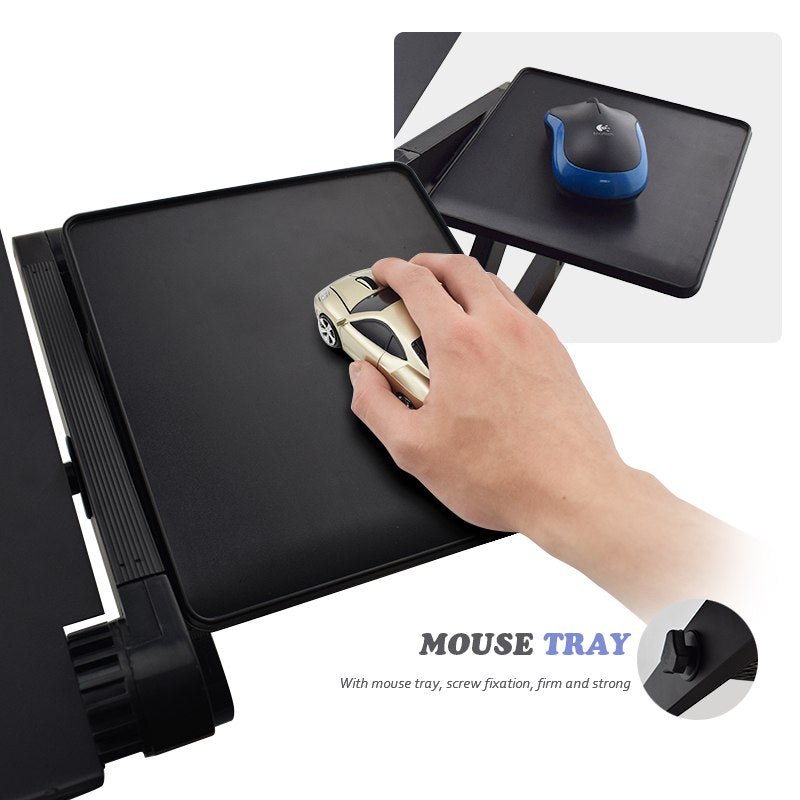 Aluminum Alloy Adjustable Laptop Stand Laptop Desk Computer Stand Notebook With Cooling Fan Mouse