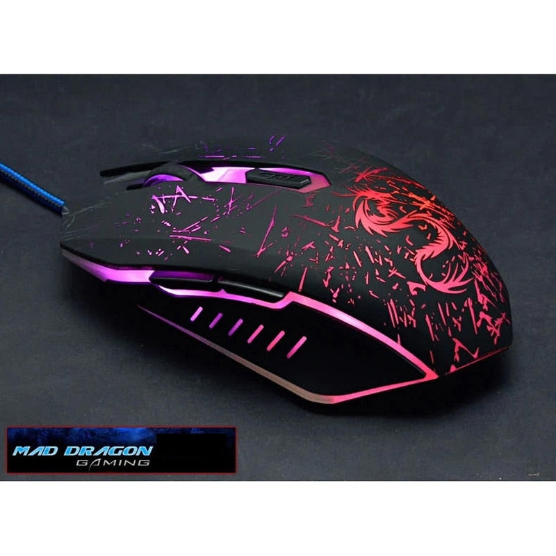 brand usb computer optical wired gaming mouse for air PC Notebook dota2 gamer laptop pad raton sem