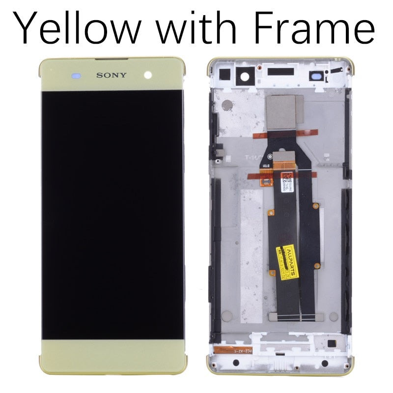 5.0'' ORIGINAL LCD For SONY Xperia XA Display Touch Screen With Frame F3111 F3112 F3116 LCD For SONY