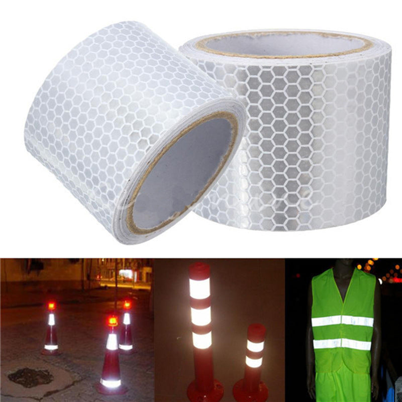 1pcs 5cmx3m Reflective Stickers Safety Mark Reflective Tape Stickers Adhesive Warning Tape vehicle