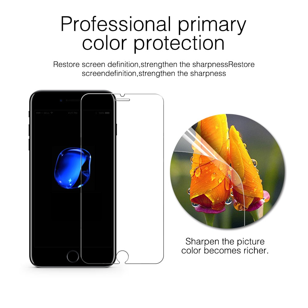 0.3mm Tempered Glass Film for iPhone 5 5s Screen Protector for i6 6s 6 plus i7 7 8 i8 plus for
