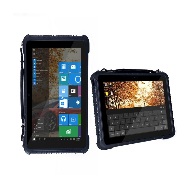 10.1 inch RS232 serial DB9 port Finger printer 4G/64G RAM/ROM windows 10 home rugged Tablets With