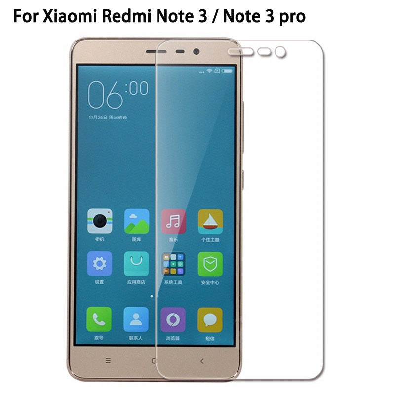 9H Tempered Glass for Xiaomi Redmi Note 3 Pro S2 6A 6 Pro Mi8 SE Screen Protector Toughened