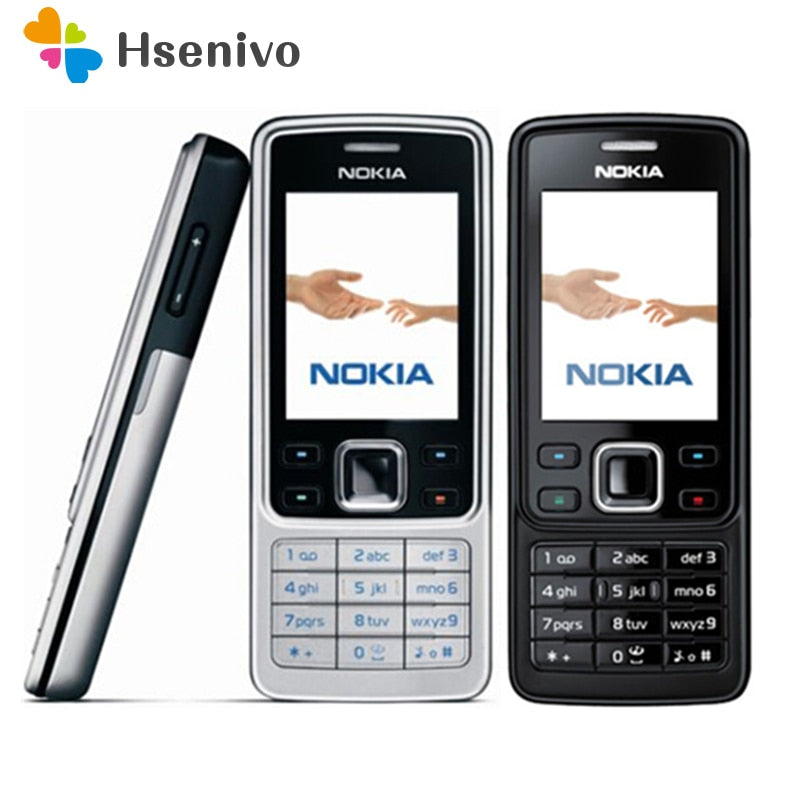 6300 Original Nokia 6300 Mobile Phone Unlocked 6300 cellphone & Arabic English Keyboard