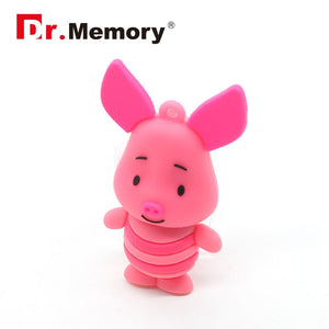 usb flash drive 64g pen drive 32g pendrive 16g 8g 4g new style Hot Sale cartoon cute animal donkey
