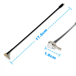 Dlenp New 5dbi Antenna 2pcs 4G Lte Antenna with Crc9 Conenctor For Huawei E398 E5372 E589 E392 Zte