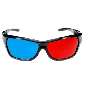 SCLS New 2x Red and Cyan Glasses Fits over Most Prescription Glasses for 3D Movies, Gaming and TV