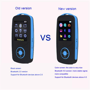 RUIZU X06 Bluetooth MP3 Player 16GB bluetooth 4.0 Sport With mp3 Player 70 Hours High Quality