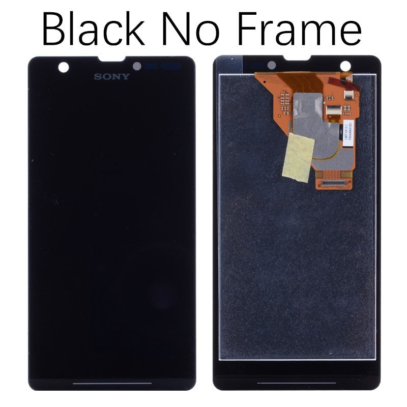 "4.55""ORIGINAL For Sony Xperia ZR Display LCD Touch Screen Replacement Screen For SONY Xperia ZR M36h"