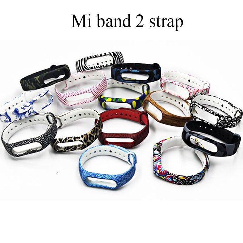 BOORUI New Mi Band 2 Bracelet Strap Miband 2 Strap Colorful Replacement silicone wrist strap for