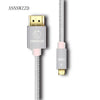 ANNNWZZD Micro hdmi cable Gold-Plated 1.4 Micro HDMI to HDMI Cable High-Speed HDTV Cable
