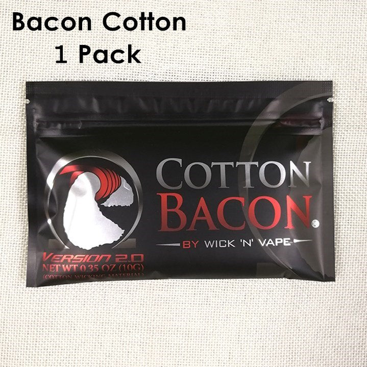 2018 Electronic Cigarette Cotton Bacon Soft DIY Dream Cotton for RDA RBA Vape Atomizer Vape