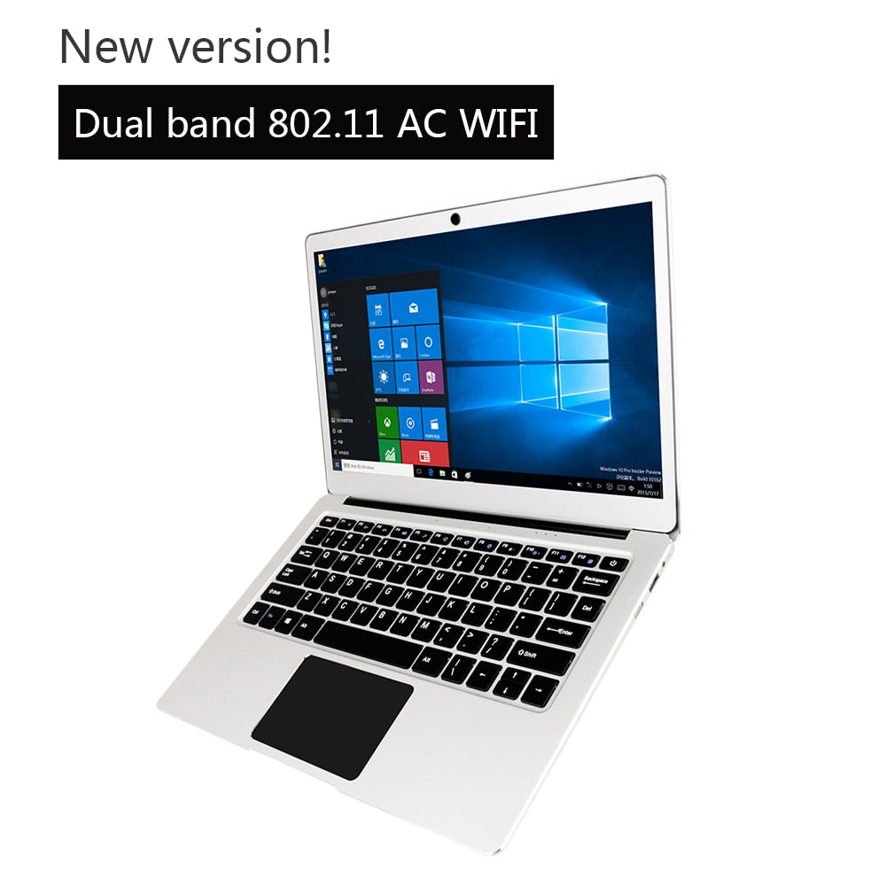 13.3 inch Win10 notebook Jumper EZbook 3 Pro laptop Intel Apollo Lake N3450 6G DDR3 64GB eMMC