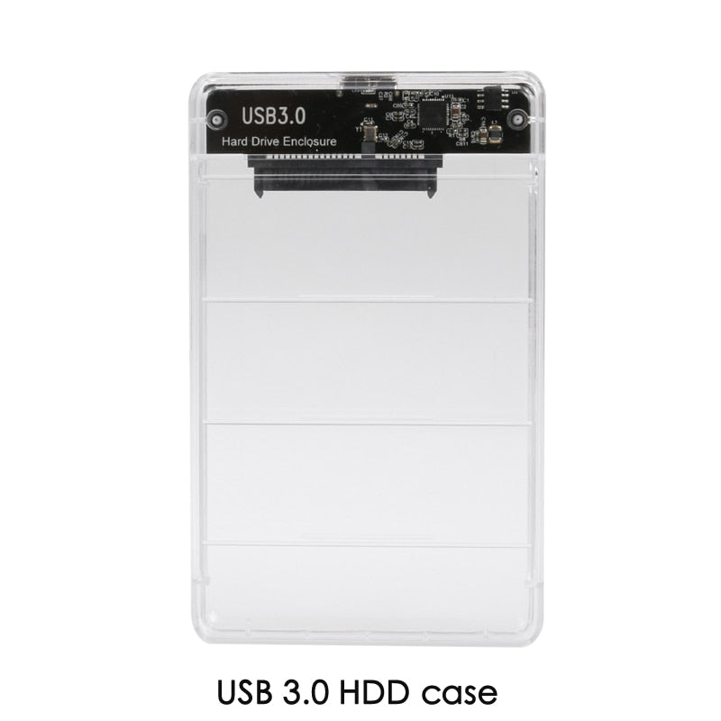 2.5inch USB 3.0 USB 3.1 Type-C SATA Hd Box SSD HDD Hard Disk Drive External HDD Enclosure