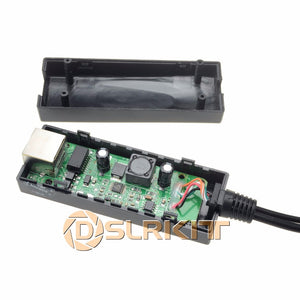 DSLRKIT Active PoE Splitter Power Over Ethernet 48V to 12V 1A-2A IEEE802.3af Standard type