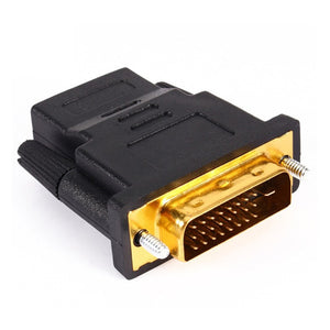 Felkin HDMI to DVI Adapter Cable 24k Gold Plated Plug DVI 24+1 to HDMI 1080P Video Converter Cable