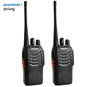 2 PCS Baofeng BF-888S Walkie Talkie bf 888s 5W Two-way radio Portable CB Radio UHF 400-470MHz 16CH