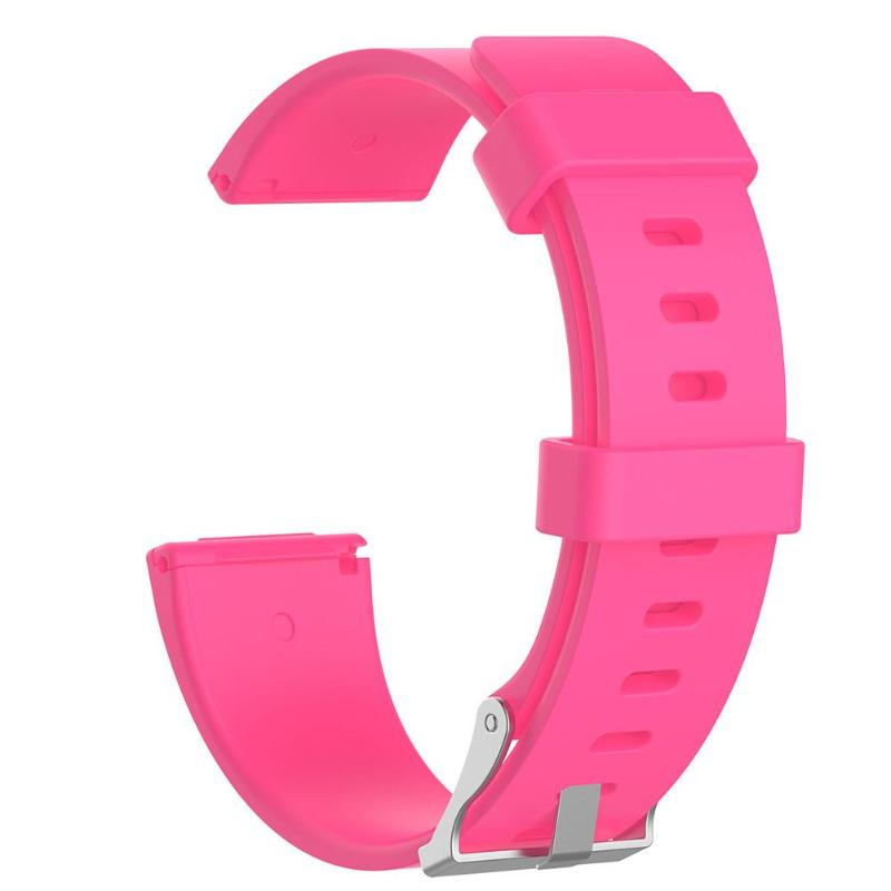 1Pcs Soft Silicone Replacement Sport Wristband Watch Band Strap for Fitbit Versa Bracelet Wrist