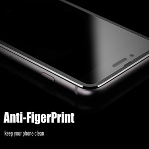 3D full cover Aluminum alloy protective glass for iphone 6 6s 7 8 plus x screen protector tempered