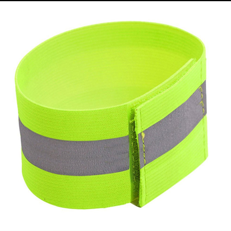 1pcs Band Reflective High Visibility Elastic Wristbands Ankle Wrist Arm Warning Running Cycling