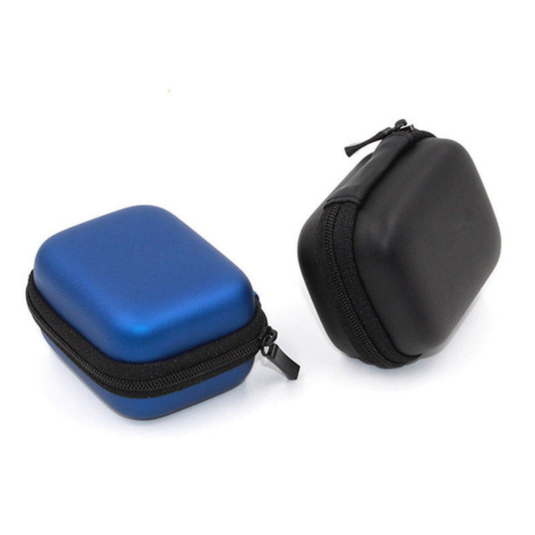 1pc Mini Storage Bag Camera Carrying Case Box 2 Colors Shockproof Design Supports Go Pro Hero