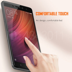 Protective Glass on the For Xiaomi Redmi Note 4 Note 4X Tempered Screen Protector Film 2.5D Edge