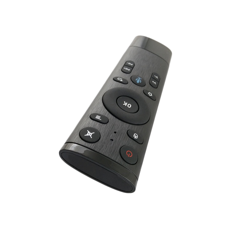 AVATTO 2.4GHz Wireless Voice Control Gyro Air Mouse with Microphone,3 Axis Gyroscope Remote