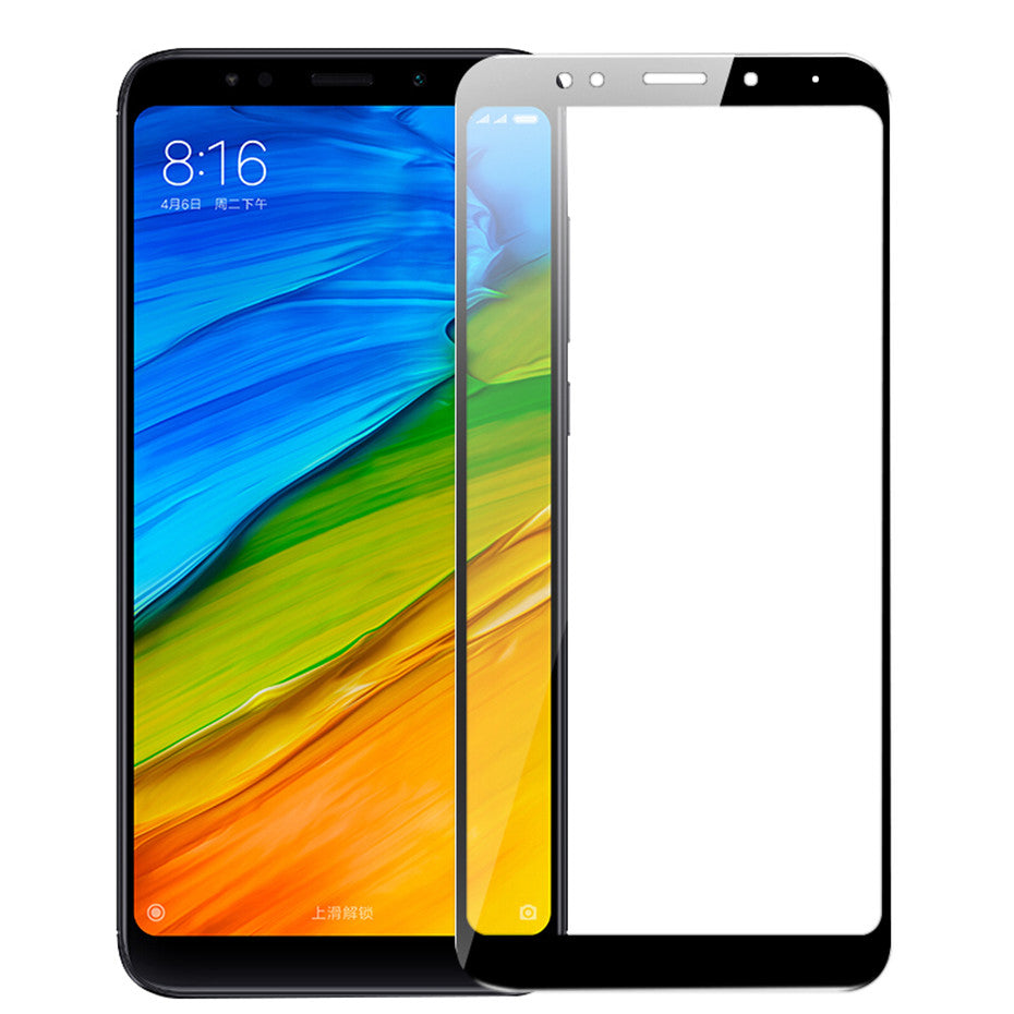 9H full cover protective glass for Xiaomi Redmi 5 Redmi 5 plus screen protector tempered glass on