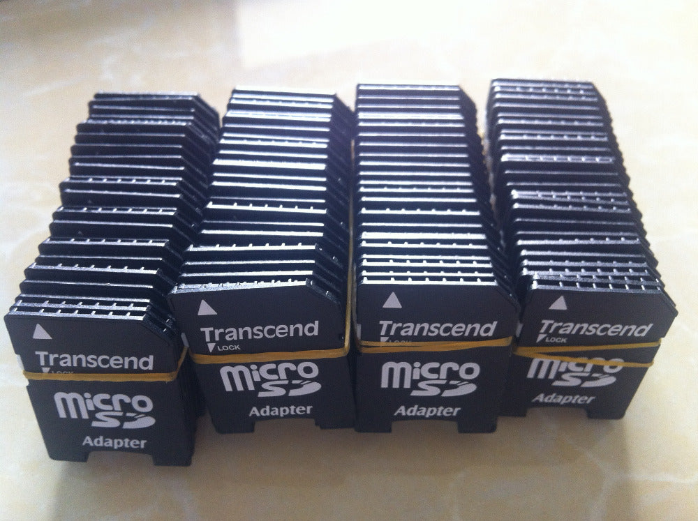5PCS/LOT Transcend Adapter TF Card Reader TF TO SD Adapter Micro SD Card TransFlash TF Memory Card