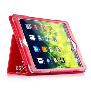 Flip Litchi PU Leather Case For ipad 2 3 4 Case Auto Sleep /Wake Up Tablets Cover For ipad 4 Smart