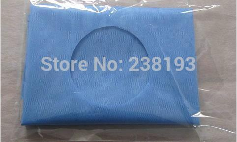 100pcs Medical Sterilization Individually package 40X50cm , surgical drapes, abdominal surgery,