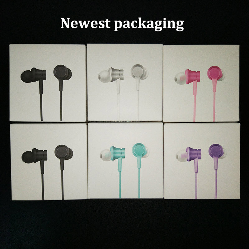 2016 Newest 100% original Xiaomi Mi Earphones Piston 3 Fresh Version In-Ear with Mic Wire Control